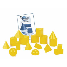 GeoModel® Solids - 5cm: 10 Sets of 17 in Tub