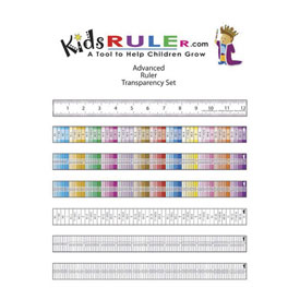 Primary KidsRuler: Transparent Ruler