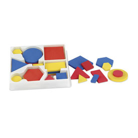 Attribute Block Classroom Kit - Plastic