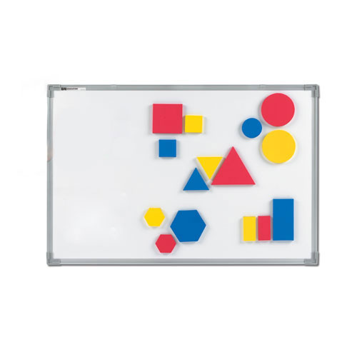 Jumbo Magnetic QuietShape® Attribute Blocks - Set of 30