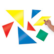 Jumbo Magnetic QuietShape® Tangrams - Set of 28
