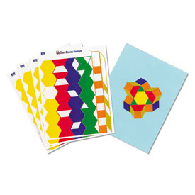 Pattern Block Stickers - 20 Sets of 93
