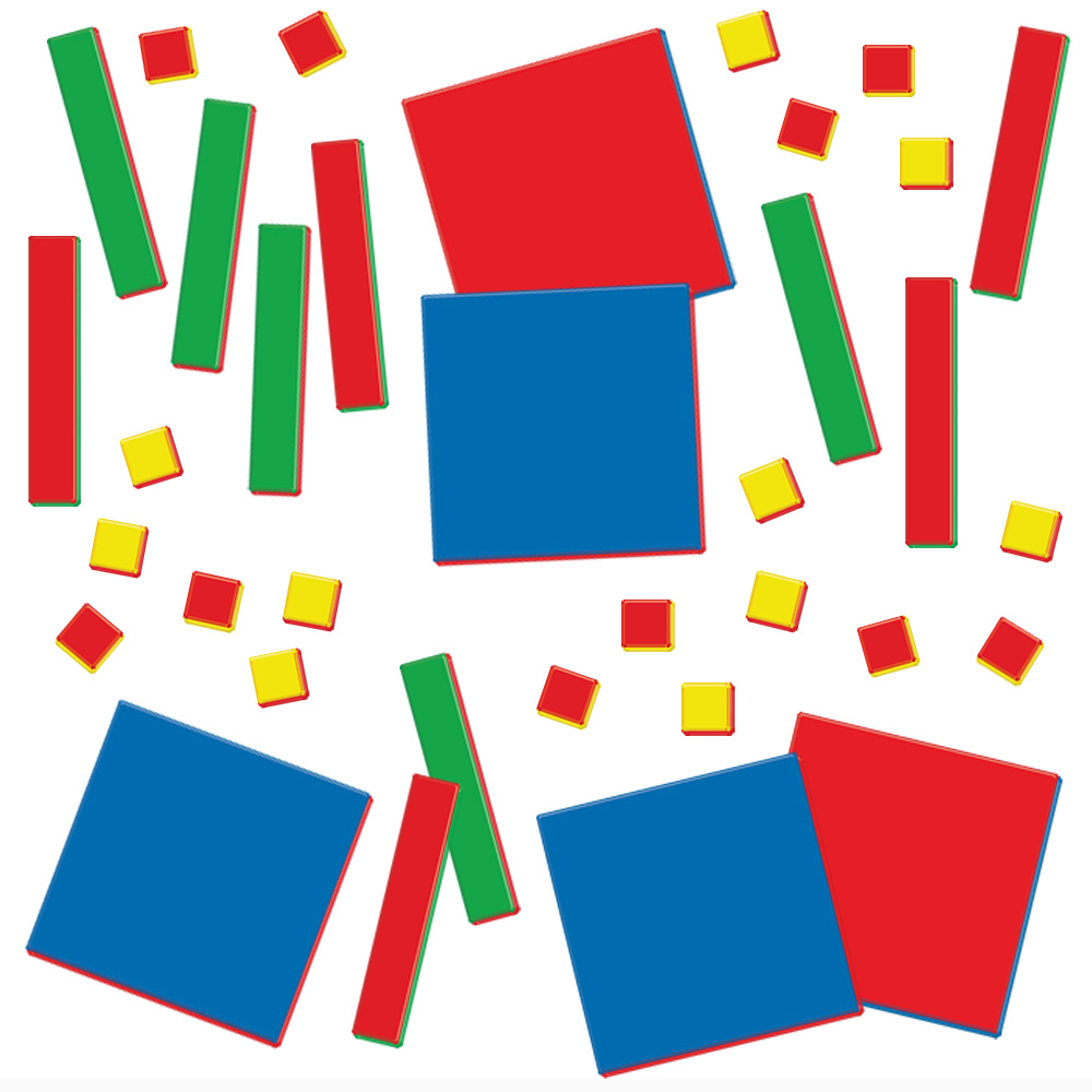 Algebra Tiles: Student Set - 35 pieces - Common Core State Standards ...
