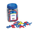 Magnetic QuietShape® Foam Letters: Upper Case - Set of 59