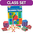 QuietShape® Foam Algebra Tiles Classroom Kit