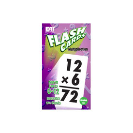 Flash Cards: Multiplication 0-12