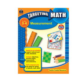 Targeting Math: Measurement, Grades 3-4