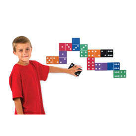 Jumbo Magnetic QuietShape® Dominoes