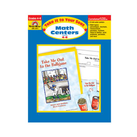 Take It To Your Seat: Math Centers: Grades 4-6