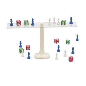Hands-On Equations® Teacher's Demonstration Scale & Game Pieces