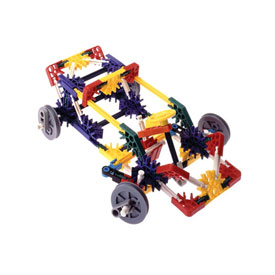 K'NEX® Education Intro to Simple Machines: Wheels, Axles & Inclined Planes