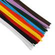 Chenille Stems: Multicolor - Set of 100