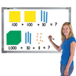 Jumbo Magnetic QuietShape® Base Ten: Assorted Colors - Set of 121