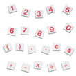 Magnetic QuietShape® Foam Number Tiles: Set of 138