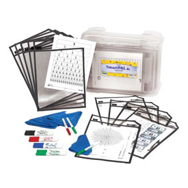 SmartPAL® Jr. Classroom Kit with CleanWipe™ Cloths: Black