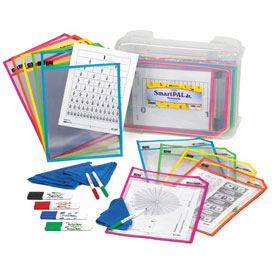SmartPAL® Jr. Classroom Kit with CleanWipe™ Cloths: Fluorescent Colors