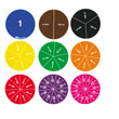 Deluxe Fraction Circles: Numbered - 30 Sets of 51 in Tub