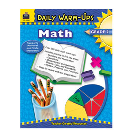Daily Warm-Ups: Math, Grade 2