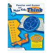 Puzzles and Games That Make Kids Think, Grade 2