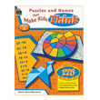 Puzzles and Games That Make Kids Think, Grade 4