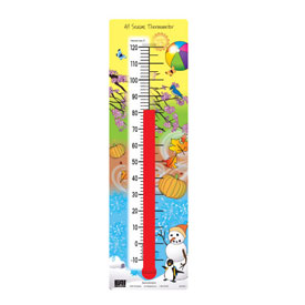 Transparent All Seasons® Thermometer (°F)
