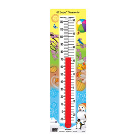 Transparent All Seasons® Thermometer (°F/°C)