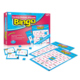 Fractions, Decimals, and Percents Bingo: Grades 4-8
