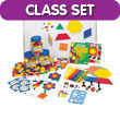 Pattern Blocks Class Kit: QuietShape® Foam