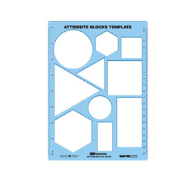 Attribute Blocks Template (Manip-U-View) - Set of 30