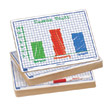 "Centimeter Grid Dry-Erase Boards: 9""x12"" Double-Sided Set of 100"