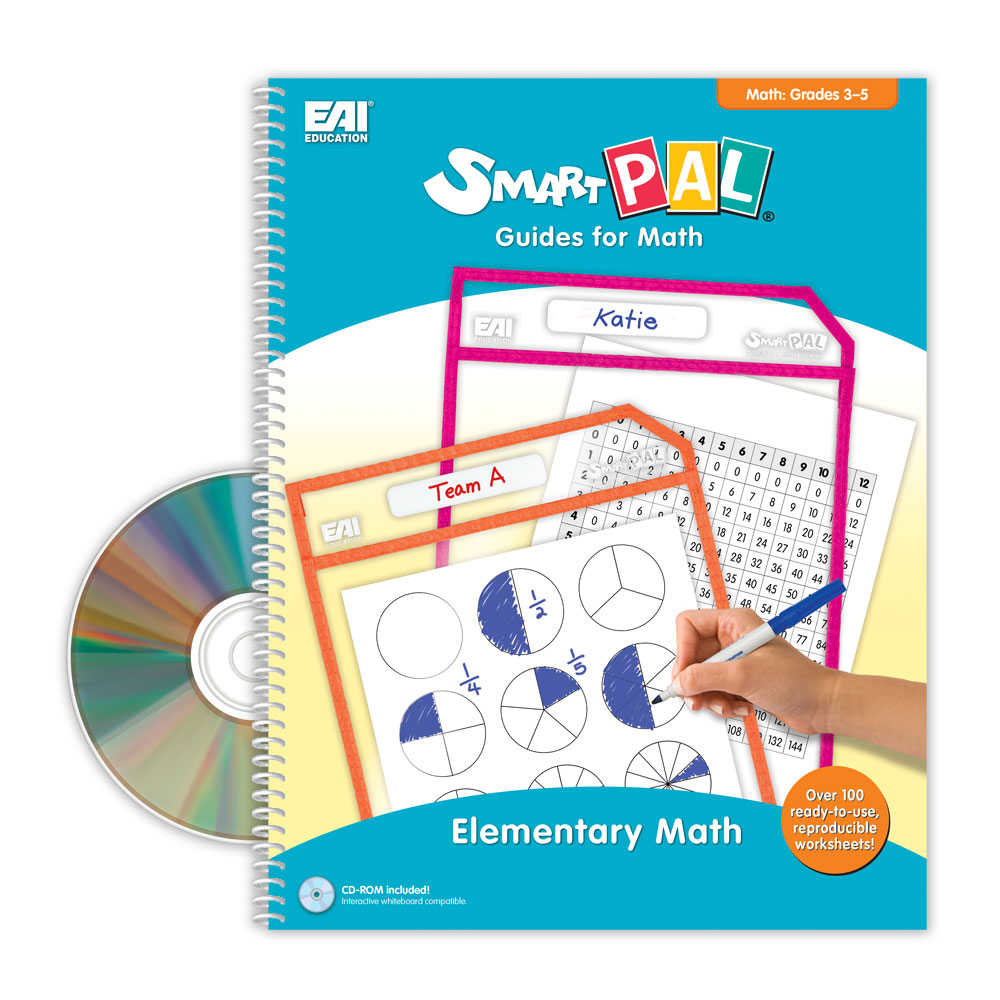 SmartPAL® Guides Reproducible Worksheets for Math: Grades 3-5 (with ...
