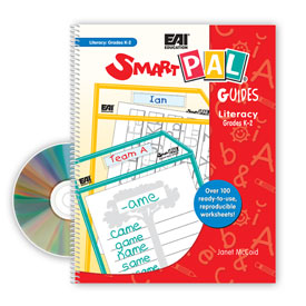 SmartPAL® Guides Reproducible Worksheets for Literacy: Grades K-2 (with CD-ROM)