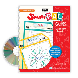 SmartPAL® Guides Reproducible Worksheets for Literacy: Grades 3-5 (with CD-ROM)