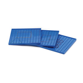 "9"" Single-Sided Geoboard - Set of 6"