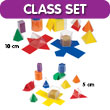 GeoModel® Folding Shapes Classroom Set