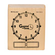Wooden Geared For Time Clock Stamp - Digital