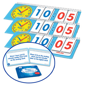 Geared for Time® Flip Chart: Student - Set of 10