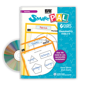 SmartPAL® Guides Reproducible Worksheets for Math: Geometry (with CD-ROM)