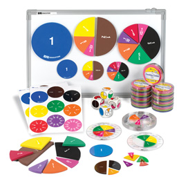 Deluxe Fraction Circles Kit: Numbered