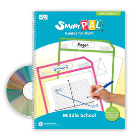 SmartPAL® Guides Reproducible Worksheets for Math: Middle School (with CD-ROM)