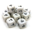 Positive & Negative Number Dice - Set of 12