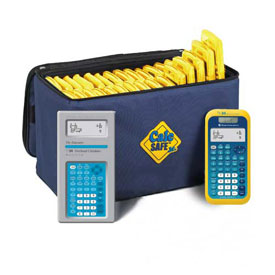 CalcSAFE® Jr. Calculator Package: Texas Instruments® TI-34 MultiView Scientific Calculator