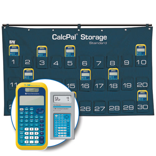 Calcpal Storage Calculator Package Texas Instruments Ti 34 Multiview Scientific