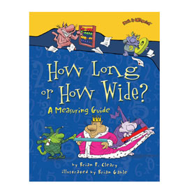 Math is CATegorical®: How Long or How Wide? - Softcover