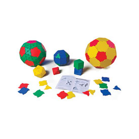 Polydron® Small Group Pack: 184 Pieces