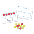 Magnetic Ten Frame & Part-Part-Whole Dry-Erase Boards - Set of 10