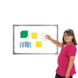 Magnetic QuietShape® Foam Base Ten: Assorted Colors - Set of 53