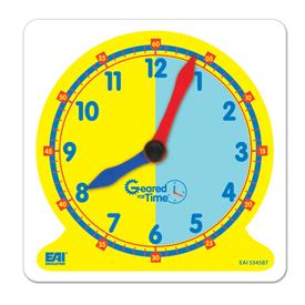 Geared for Time® Two Color Clock Dial - Set of 5