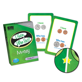 I Have, Who Has? Money Game: Grades K-1