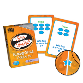 I Have, Who Has? Number Sense Game - One More: Grades K-1